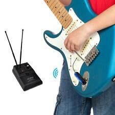 Pyle PDWMG46 Premier UHF Wireless Guitar/Instrument Transmitter Receiver System