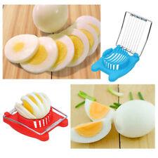New Stainless Steel Boiled Egg Slicer Cutter Mushroom Tomato Kitchen Chopper