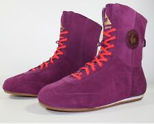Women's Le Coq Sportif Suede Purple High Top Trainers Boots SIZE 36 UK 3.5