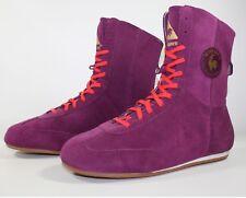 BNIB Women's Le Coq Sportif Wolf Suede Purple Hi Trainers Boots SIZE 36 UK 3.5