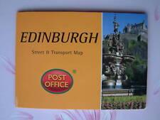 EDINBURGH City Street Transport Map Pocket Guide Pop-Up NEW