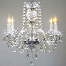 New! AUTHENTIC ALL CRYSTAL CHANDELIER CHANDELIERS