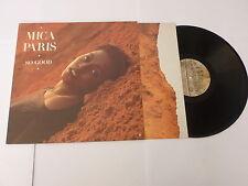 MICA PARIS - So Good - 1988 UK 10-track vinyl LP