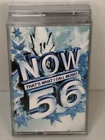 Now Thats What I Call Music 56 Double Cassette Tapes. Original Now 56. 2003
