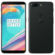 OnePlus 5T - 64GB - (Dual Sim) - Midnight Black (Unlocked) Smartphone