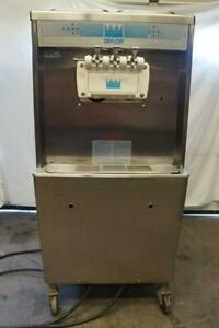 Taylor Commercial 1 or 3 Flavor Twist Soft Serve Ice Cream Machine Model #754-33