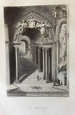 Le Vatican gravure de 1863 Italia