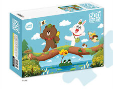 LINE Friends Jigsaw Puzzle Expedition 500 pcs Character Kids Teens Bromide Gift