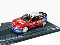 RALLY IXO DIECAST 1/43 Citroen Xsara WRC Sainz/Marti 2004 - RAL023