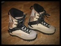 Mens Snowboard Boots Mens Size 9 26.5 K2 Sonic Clicker Excellent Condition