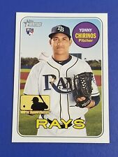 Yonny Chirinos - 2018 Topps Heritage High Number 100th Anniversary SP