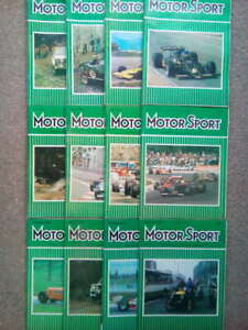 Vintage Motor Sport Magazines 1978 -Vol LIV -Issues 1-12 -You Choose the Issue