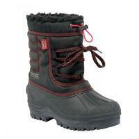 Regatta Trekforce II Junior Waterproof Thermo-Guard Snow Boot Black RRP £45