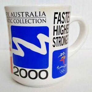 Rare Sydney 2000 Summer Olympics Authentic Collection Coffee Mug
