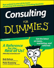 NEW Consulting For Dummies by Bob Nelson