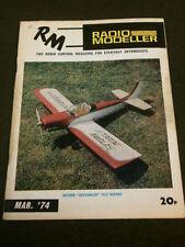 RADIO MODELLER - SATURN SKYDANCER TEST - MARCH 1974