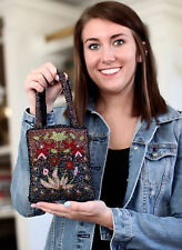 Kate Spade MULTI sparkles GLITTER GOLD cushion stud Earrings & beaded purse bag