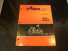 Ariens 912 Ride on mower parts manual