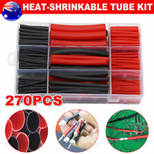 270Pcs Heat Shrink Tubing Kit 3:1 Heat-shrinkable Tube Kit Dual Wall Adhesive AU