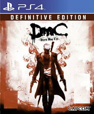 New Sony PS4 Games DmC Devil May Cry Definitive Edition HK Version
