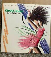 "CHAKA KHAN - I Feel For You/ Chinatown 12"" Single, record, 1984, 0-20249 -- NM"