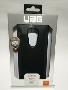 Authentic UAG Urban Armor Gear Scout Series Case for moto g PLAY(2021) (Black)