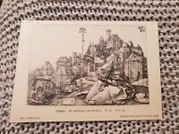 St. Anthony the Hermit - Dürer - Vintage Postcard