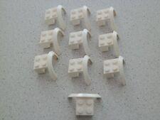 Lego 50745# 10x Kotflügel 4x2x1 Weiß Weiss 10182 60110 7498