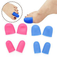 2Xsoft silicone toe tube fingers protectors for cracked skin corn blister cal xk