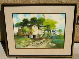 FRANK M. HAMILTON The Summer Months ORIGINAL oil painting was $2750