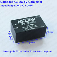 HLK-PM01 AC-DC 110V 220V to 5V Converter Ultra-compact Mini Power Supply Module
