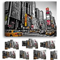 NEW YORK LONDON PARIS - IMPRESSION IMAGE TOILE 60 MODELES IMPRIMEE TABLEAU NY-19