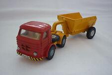 Joal - Vintage Miniatura De Metal - Camión con muldenkipperanhänger - ( Unb 19)