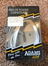 Adams Pro-25 Youth Chinstrap 4S White New