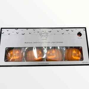 Jack O Lantern Singing Pumpkins Musical LED Halloween String Projection Lights