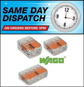 Genuine Wago 221 Series 221-412 221-413 221-415 Connector Block Terminal Clamp