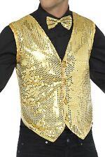 Smiffy's 42937S Sequin Waistcoat Small