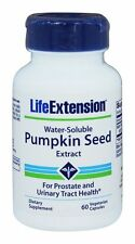 THREE BOTTLES $11.66 Life Extension Pumpkin Seed Extract urinary tract prostate