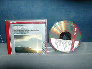 STRAUSS-Also Sprach Zarathustra/Don Juan Krebbers Haitink CD Philips PDO