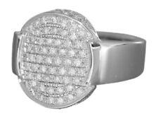 Exklusiver Ring Weißgold 750 mit Brillanten 1 ct. Brillantring 18 Karat WG