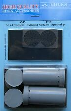 AIRES 1/48 F-14A Tomcat Exhaust Buses ouvert position for Hobby boss kit 4515