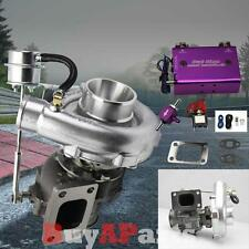 Upgrade Racing V-Band Turbo Charger + Purple Dual Stage 30PSI Boost Controller