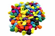 Adhiran Aquarium Decor Pebbles Multi-Color stone 200g decorative item