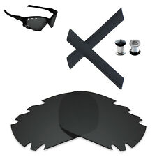 Hawkry Polarized Replacement Lens & Earsocks Bolt For-Oakley Jawbone Vented -Opt
