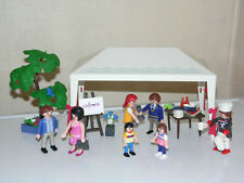 Playmobil Party Tent Marquee +Guests - Wedding Birthday + Chef Figures Summer