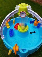 Little Tikes Fun Zone Battle Splash Water Table - used