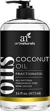 ArtNaturals Fractionated Coconut Oil 16 oz 100% Natural & Pure - Best Carrier /