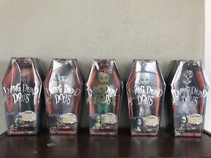 MEZCO Living Dead Dolls Series 18 complete set. All 5 sealed in Case. Mint!!!