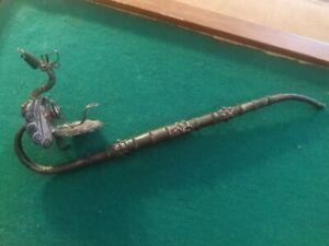 antica pipa oppio opium pipe