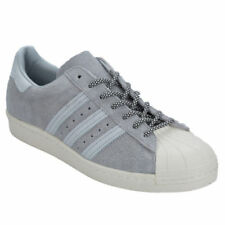 Baskets superstars gris pour femme